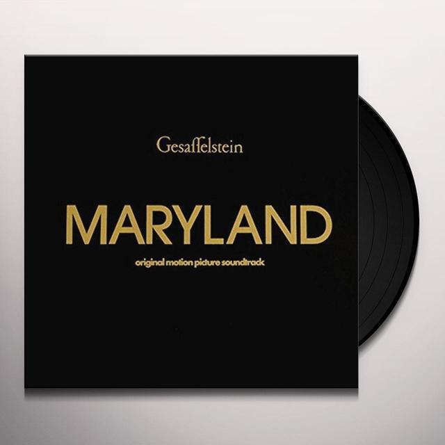 Gesaffelstein MARYLAND OST Vinyl Record