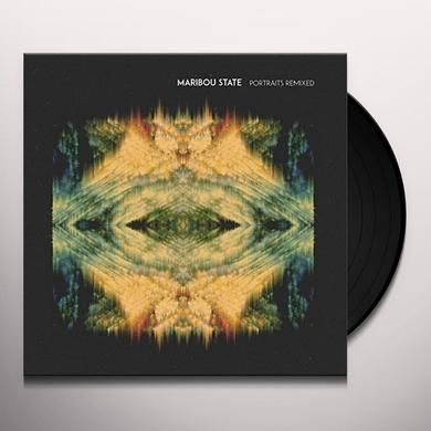 Maribou State PORTRAITS REMIXED Vinyl Record