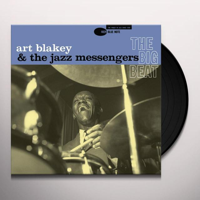 Art Blakey & The Jazz Messengers BIG BEAT Vinyl Record - Gatefold Sleeve, Limited Edition, 180 Gram Pressing, Remastered