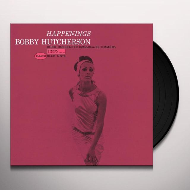 Bobby Hutcherson HAPPENINGS Vinyl Record - Gatefold Sleeve, Limited Edition, 180 Gram Pressing, Remastered