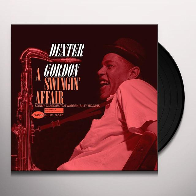 Dexter Gordon SWINGIN' AFFAIR Vinyl Record