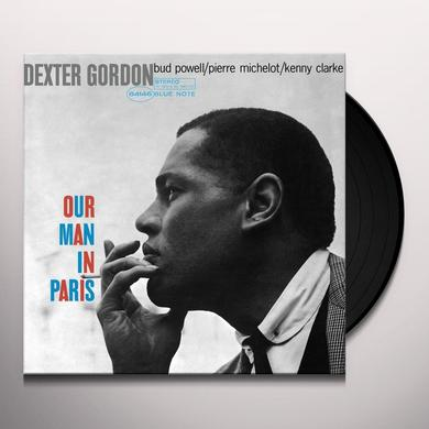 Dexter Gordon OUR MAN IN PARIS Vinyl Record - Limited Edition, 180 Gram Pressing, Remastered