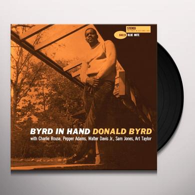 Donald Byrd BYRD IN HAND Vinyl Record - Gatefold Sleeve, Limited Edition, 180 Gram Pressing, Remastered
