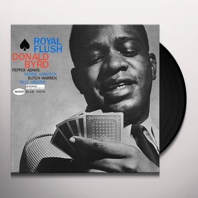 Donald Byrd ROYAL FLUSH Vinyl Record