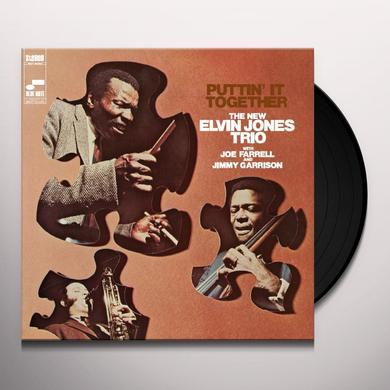 Elvin Trio Jones PUTTIN' IT TOGETHER Vinyl Record - Gatefold Sleeve, Limited Edition, 180 Gram Pressing, Remastered