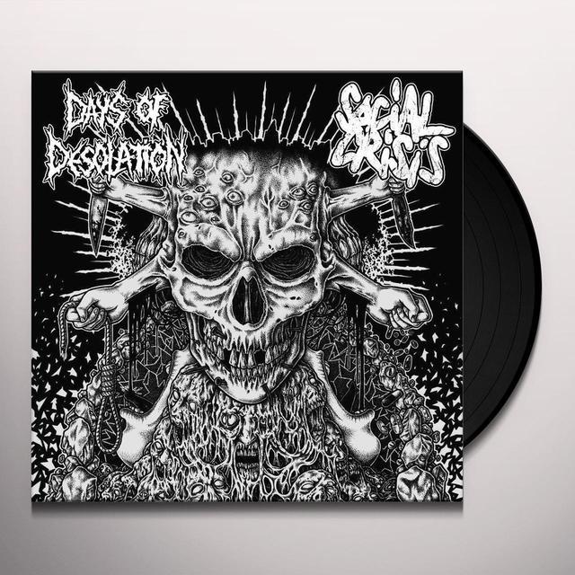 SOCIAL CRISIS / DAYS OF DESOLATION SPLIT Vinyl Record