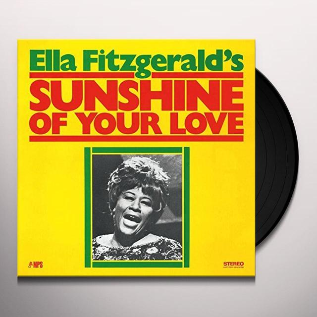 Ella Fitzgerald / Tommy Flanagan / Ed Thigpen SUNSHINE OF YOUR LOVE Vinyl Record