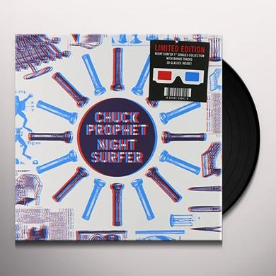 Chuck Prophet 3D NIGHT SURFER Vinyl Record