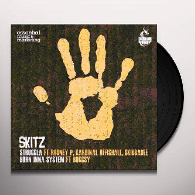 Skitz STRUGGLA (ENGINE-EARZ EXPERIMENT REMIX) B/W BORN Vinyl Record