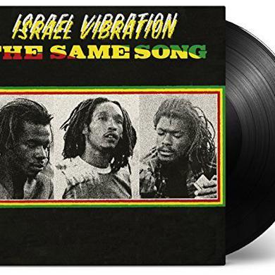 ISTRAEL VIBRATION SAME SONG Vinyl Record