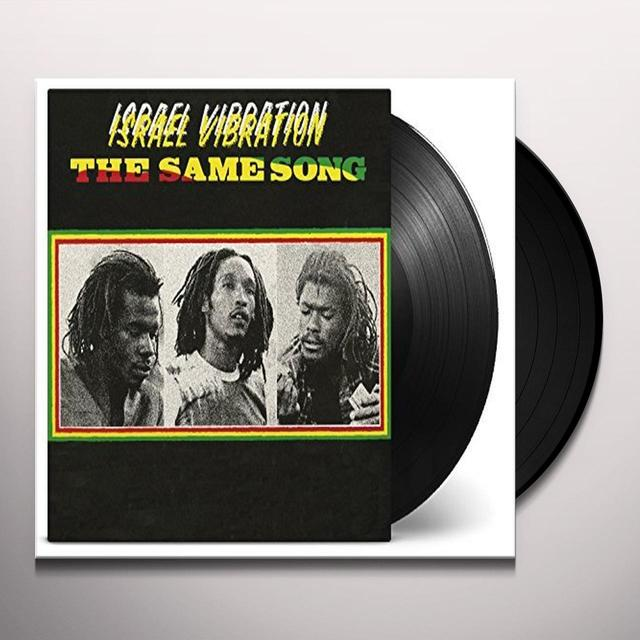 ISTRAEL VIBRATION SAME SONG Vinyl Record - Holland Import