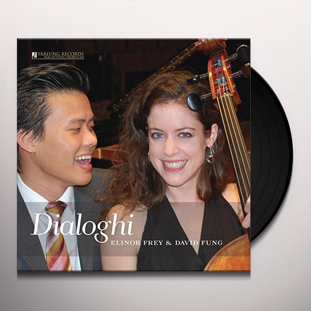 J.S. Bach / Elinor Frey / David Fung DIALOGHI Vinyl Record