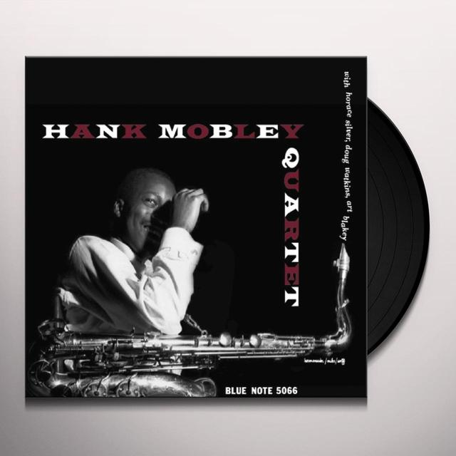 Hank Quartete Mobley HANK MOBLEY QUARTET Vinyl Record