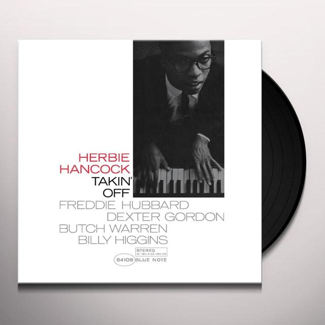 Herbie Hancock TAKIN' OFF Vinyl Record - Gatefold Sleeve, Limited Edition, 180 Gram Pressing, Remastered
