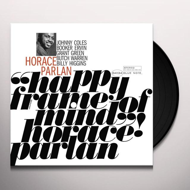 Horace Parlan HAPPY FRAME OF MIND Vinyl Record - Gatefold Sleeve, Limited Edition, 180 Gram Pressing, Remastered