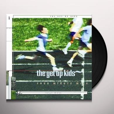 The Get Up Kids FOUR MINUTE MILE Vinyl Record