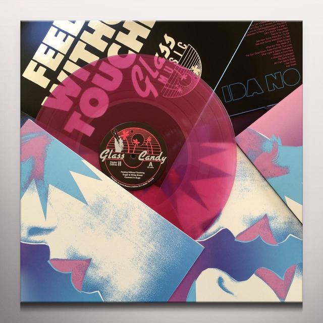 Glass Candy FEELING WITHOUT TOUCHING Vinyl Record - 180 Gram Pressing, Pink Vinyl