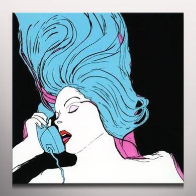 Chromatics NIGHT DRIVE Vinyl Record - Clear Vinyl, 180 Gram Pressing, Red Vinyl, Deluxe Edition