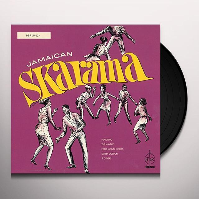 JAMAICAN SKARAMA / VARIOUS Vinyl Record