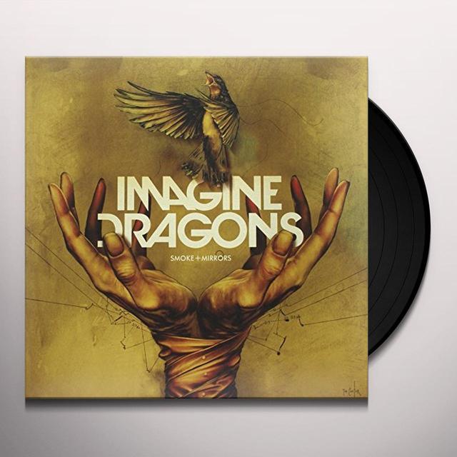 Imagine Dragons SMOKE + MIRRORS Vinyl Record - Deluxe Edition