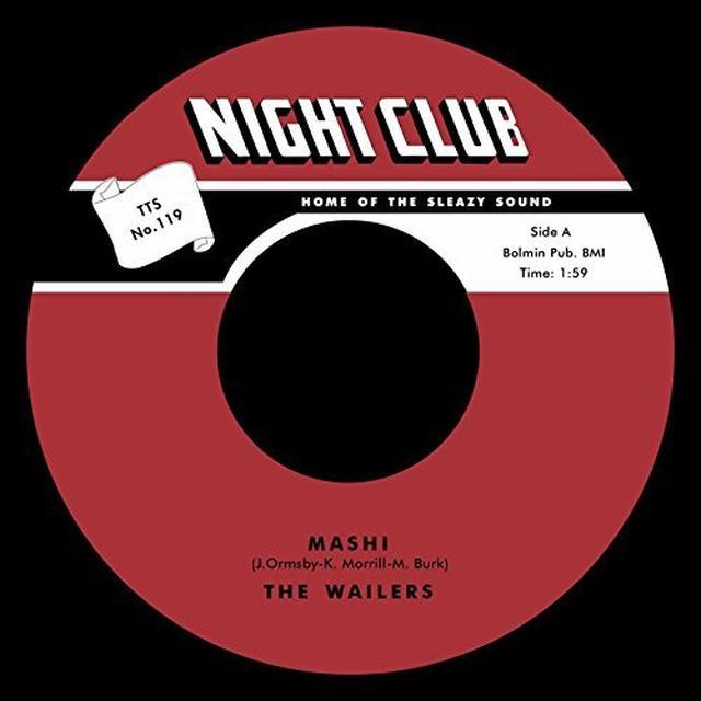 The Wailers MASHI / ON THE ROCKS Vinyl Record
