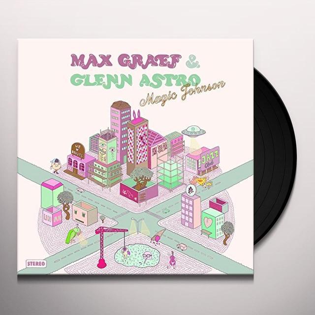 Max Graef & Glenn Astro MAGIC JOHNSON Vinyl Record - UK Release