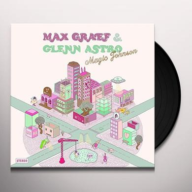 Max Graef & Glenn Astro MAGIC JOHNSON Vinyl Record - UK Release