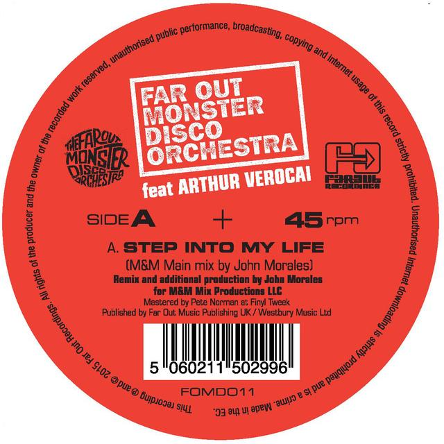 FAR OUT MONSTER DISCO ORCHESTRA FT. ARTHUR VEROCAI STEP INTO MY LIFE (JOHN MORALES M&M MIXES) Vinyl Record - UK Release