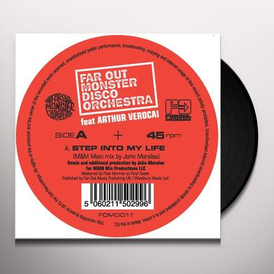 FAR OUT MONSTER DISCO ORCHESTRA FT. ARTHUR VEROCAI STEP INTO MY LIFE (JOHN MORALES M&M MIXES) Vinyl Record - UK Import