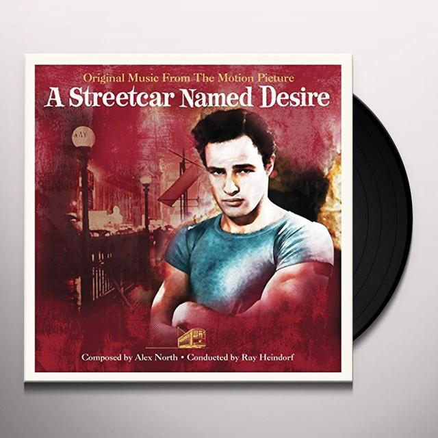 STREETCAR NAMED DESIRE / O.S.T. (UK) STREETCAR NAMED DESIRE / O.S.T. Vinyl Record - UK Import