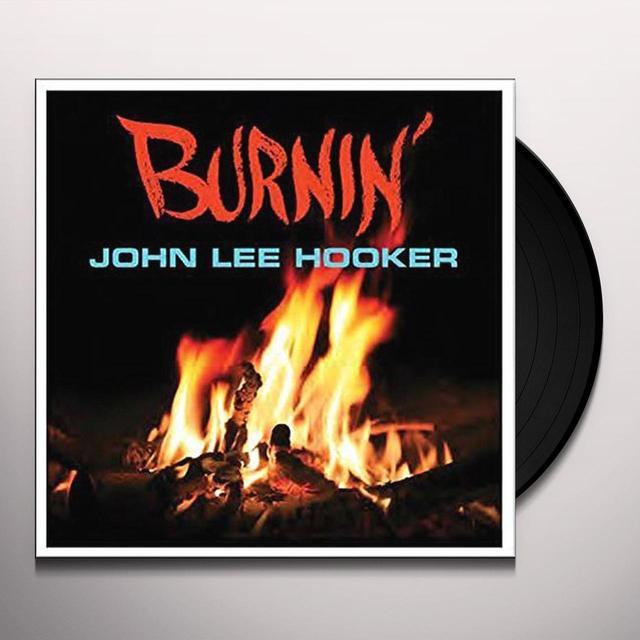 John Lee Hooker BURNIN Vinyl Record - UK Import
