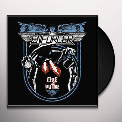 Enforcer LIVE BY FIRE Vinyl Record - Holland Import