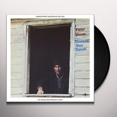 Townes Van Zandt FLYIN SHOES Vinyl Record - UK Import
