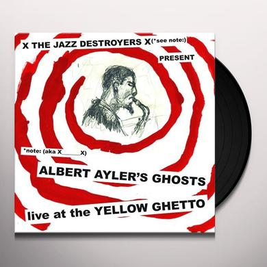 X___X ALBERT AYLER'S GHOSTS LIVE AT THE YELLOW GHETTO Vinyl Record