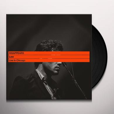 Disappears LOW: LIVE IN CHICAGO Vinyl Record