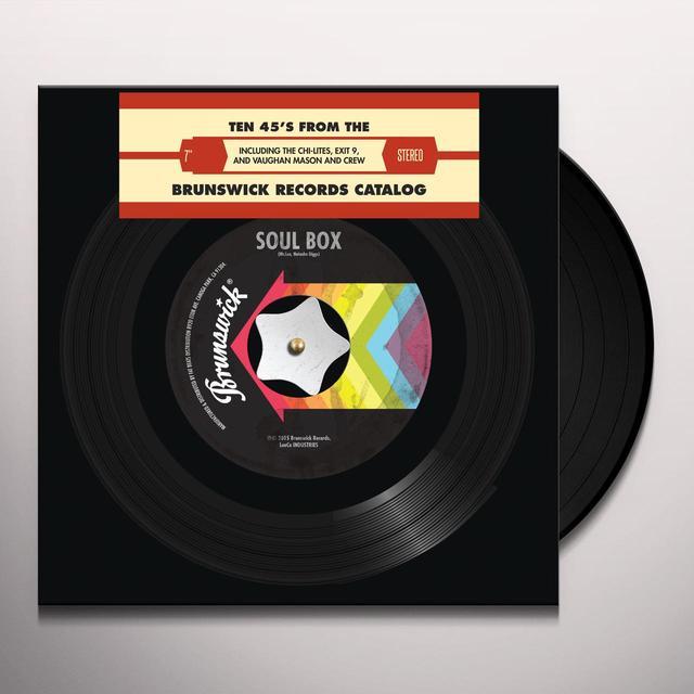 BRUNSWICK SOUL BOX / VARIOUS (LTD) BRUNSWICK SOUL BOX / VARIOUS Vinyl Record - Limited Edition