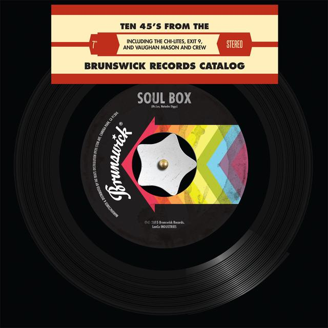 BRUNSWICK SOUL BOX / VARIOUS (LTD) BRUNSWICK SOUL BOX / VARIOUS Vinyl Record