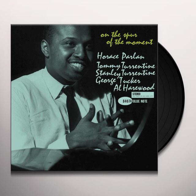 Horace Parlan ON THE SPUR OF THE MOMENT Vinyl Record