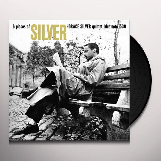 Horace Silver Quintet 6 PIECES OF SILVER Vinyl Record