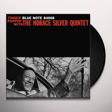 Horace Silver Quintet FINGER POPPIN' WITH Vinyl Record - Gatefold Sleeve, Limited Edition, 180 Gram Pressing, Remastered