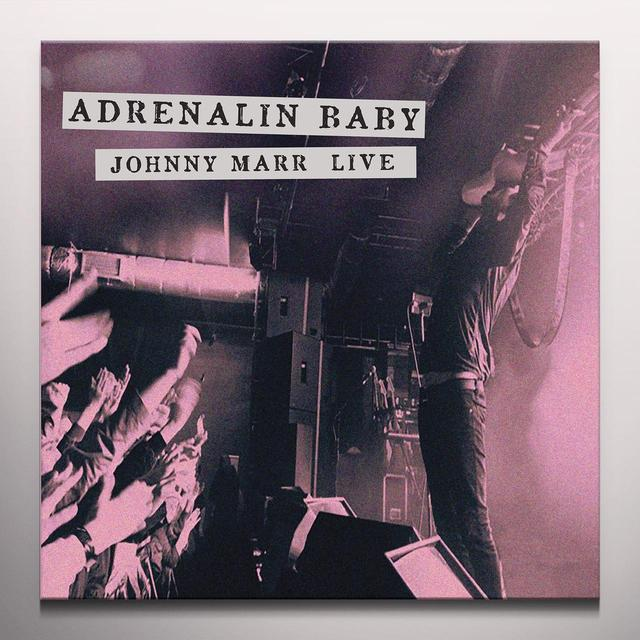 ADRENALIN BABY: JOHNNY MARR LIVE Vinyl Record - Colored Vinyl, Pink Vinyl