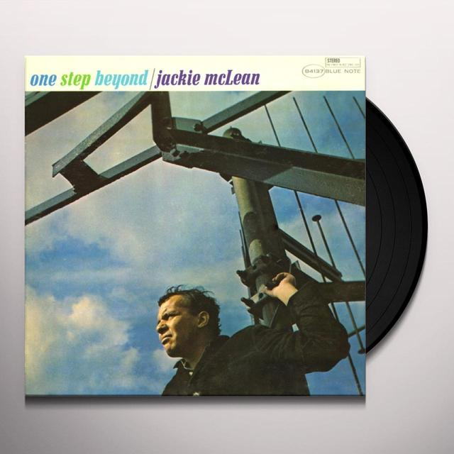 Jackie Mclean ONE STEP BEYOND Vinyl Record - Gatefold Sleeve, Limited Edition, 180 Gram Pressing, Remastered