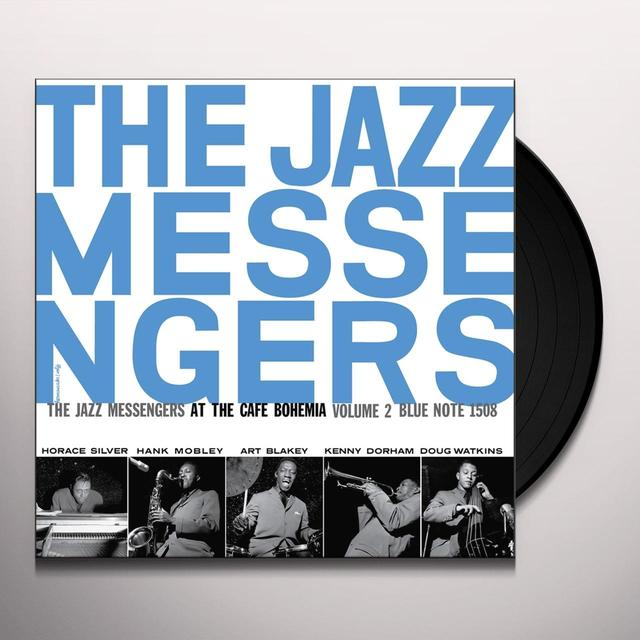 Jazz Messengers AT THE CAFE BOHEMIA 2 Vinyl Record