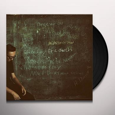 Eric Church MR MISUNDERSTOOD Vinyl Record