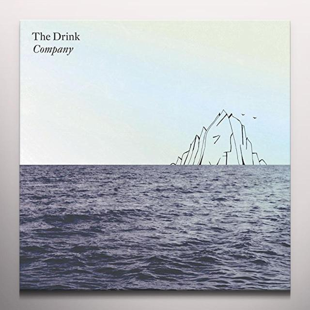 DRINK COMPANY Vinyl Record - w/CD, Colored Vinyl, White Vinyl, Canada Import