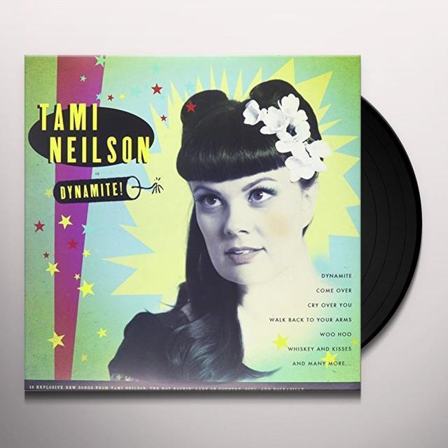 Tami Neilson DYNAMITE Vinyl Record - Canada Import