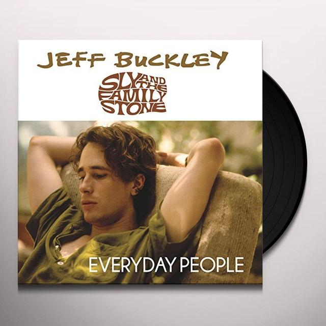 Jeff Buckley EVERYDAY PEOPLE Vinyl Record - UK Release