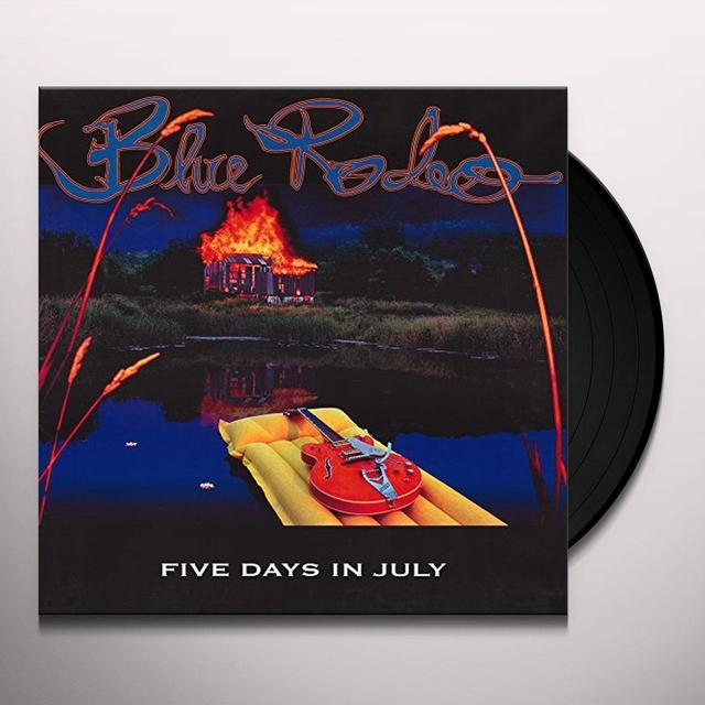 Blue Rodeo FIVE DAYS IN JULY Vinyl Record - Canada Import