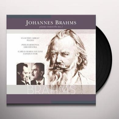 Johannes Brahms PIANO CONCERTO NO. 1 Vinyl Record - 180 Gram Pressing, Holland Import