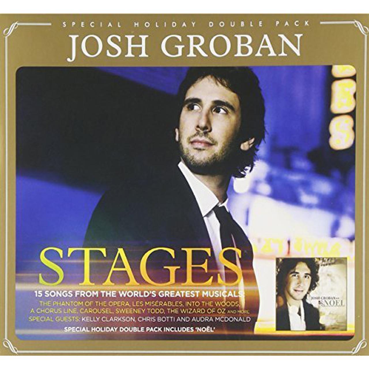 Josh Groban STAGES/NOEL CD